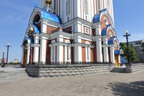 ハバロフスク/ウスペンスキー教会の外観