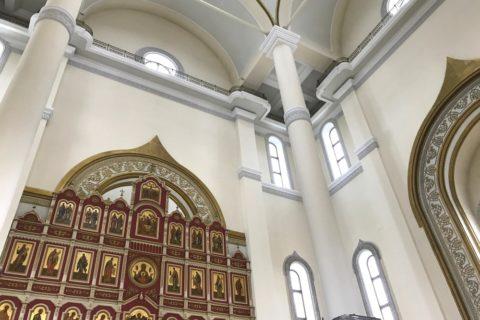 スパソ・プレオブランジェスキー教会の装飾