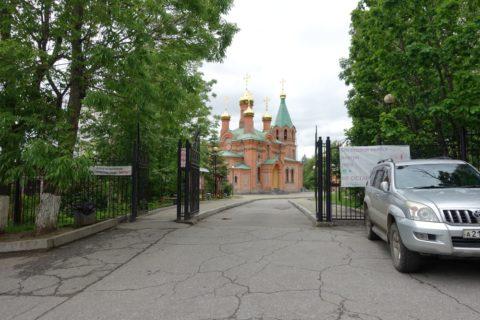 イルクーツク聖イノセント教会/正門