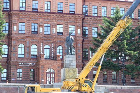 ハバロフスク/レーニン像