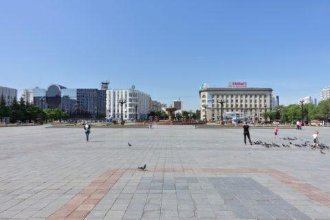 ハバロフスク・レーニン広場