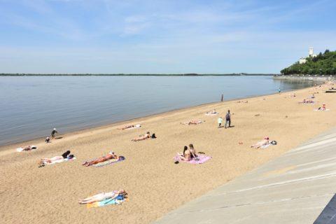 khabarovsk-city/アムール川の砂浜