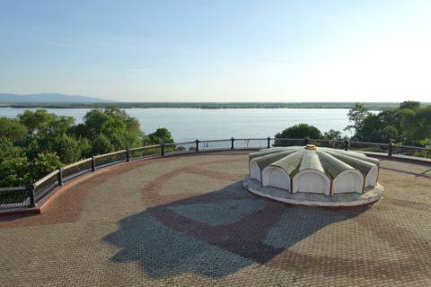 khabarovsk-city/アムール川を望む展望スポット