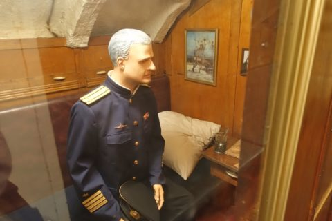 submarine-s56-historical-museum/指揮官の部屋