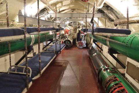 submarine-s56-historical-museum/乗組員のベッド