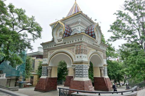vladivostok/ニコライ二世凱旋門