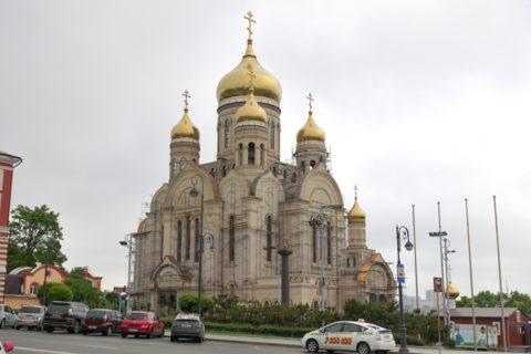 vladivostok/中央広場の教会