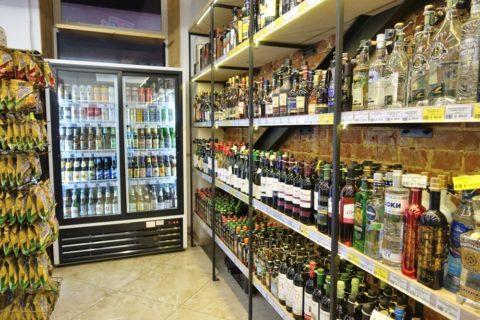 vladivostok/スーパーのアルコール