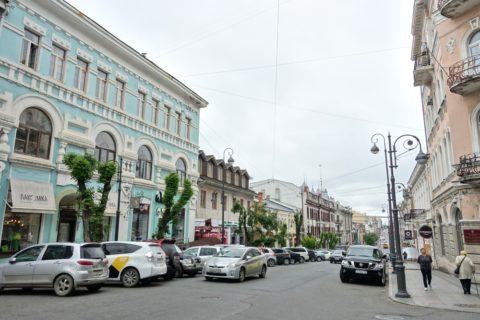 vladivostok/カラフルな建物