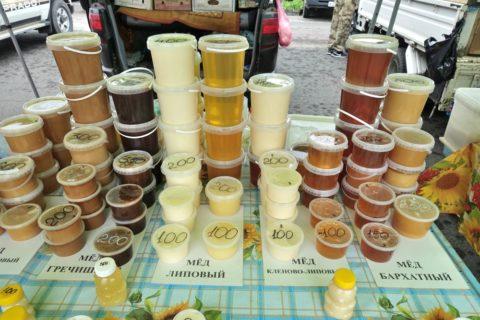 vladivostok-market-honey/ハチミツの種類と価格
