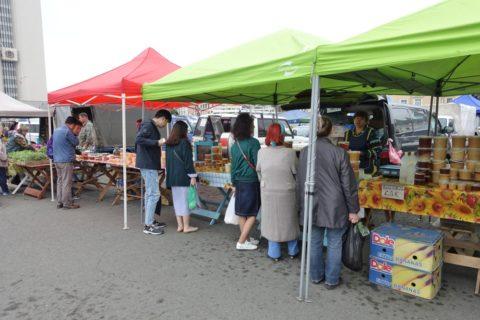 vladivostok-market-honey/マーケットの出店数
