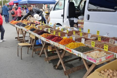 vladivostok-market-honey/ドライフルーツ