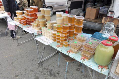 vladivostok-market-honey/ハチミツのパック販売