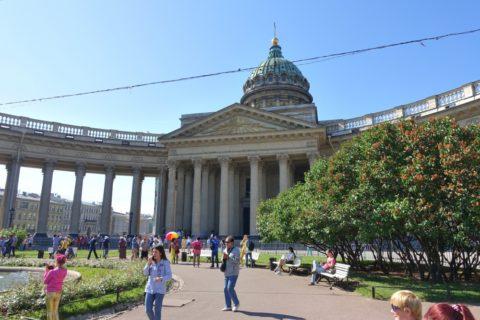 カザン大聖堂前広場