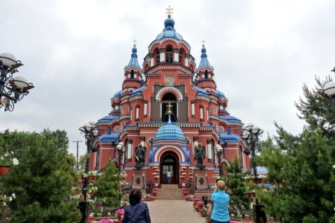 Kazan-church-irkutsk/全景
