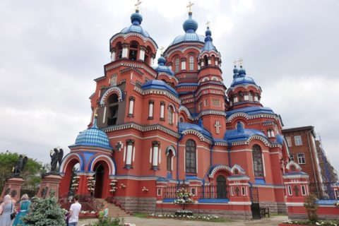 Kazan-church-irkutsk/横から見た