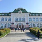 ハバロフスク駅からシベリア鉄道に乗車!駅舎、待合室、ラウンジなど