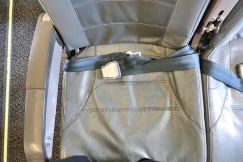 S7-Economy-class/ボロボロの座席