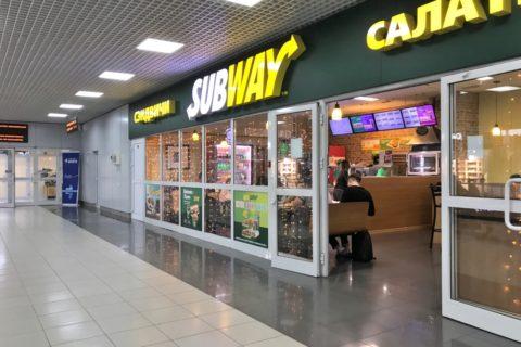 irkutsk-airport/サブウェイ
