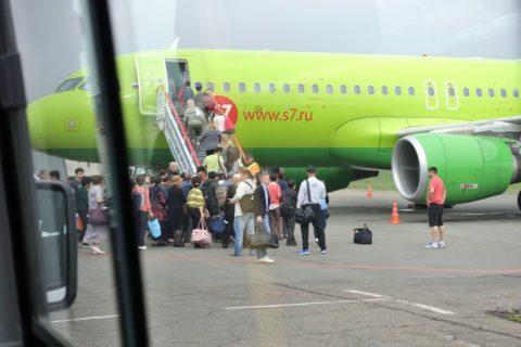irkutsk-airport-搭乗順は一般客が先