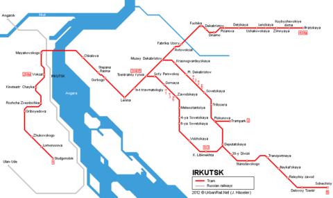 irkutsk-map/Tram