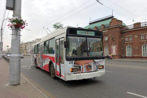 irkutsk-tram-トロリーバス