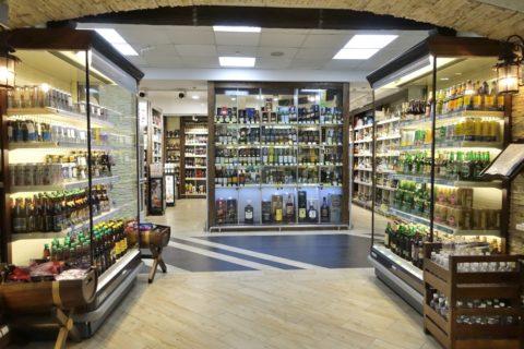 nc-city/アルコールの売場