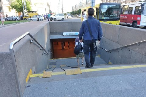 sankt-petersburg-airport-モスコフスカヤ駅入口