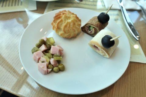 shostakovich-lounge/軽食の味