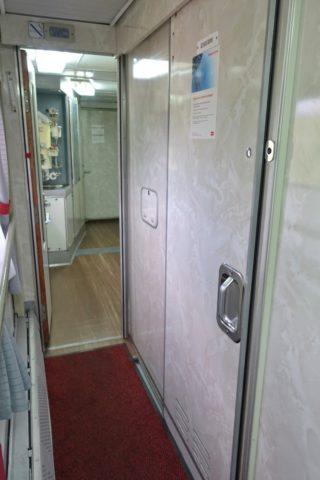 シャワールームの場所/シベリア鉄道