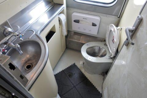 シベリア鉄道のトイレ