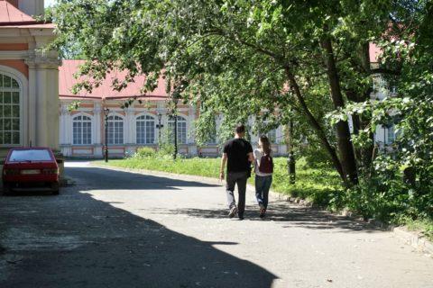 Alexander-Nevsky-Lavra/散歩
