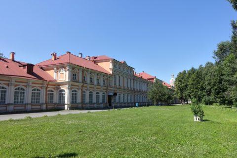 Alexander-Nevsky-Lavra/緑地