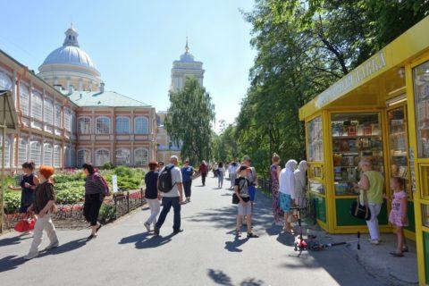 Alexander-Nevsky-Lavra/修道院の中