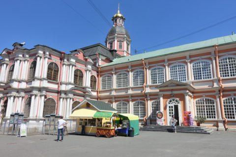 Alexander-Nevsky-Lavra/ブラゴヴィシチェンスカヤ教会