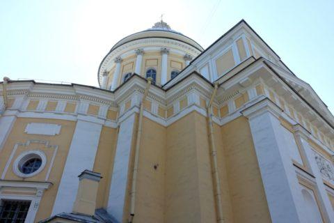 Alexander-Nevsky-Lavra/トロイツキー聖堂