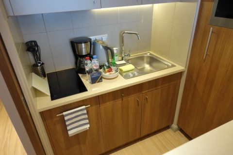 Aparthotel-Adagio-Moscow-Kievskaya/キッチン