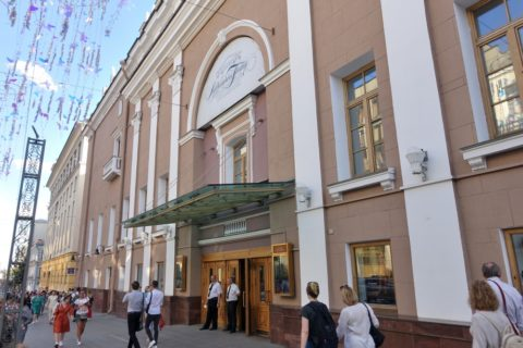Danchenko-Moscow-Music-Theatre/エントランス
