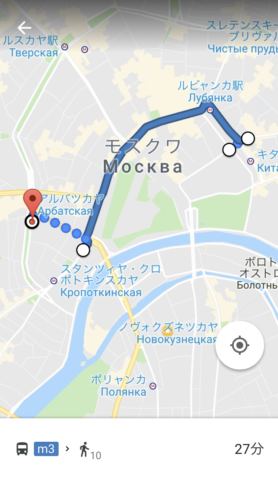 Google/バスMAP検索