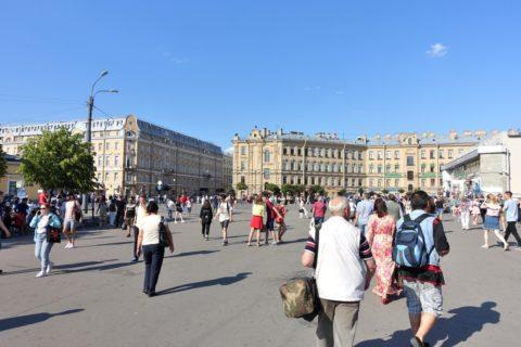 センナヤ広場/サンクトペテルブルク