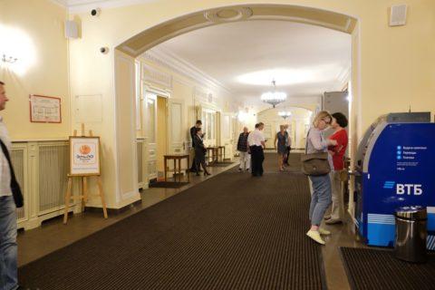 Mikhailovsky-Theatre/入口付近