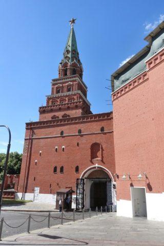 Moscow-Kremlin-Museums/ボロヴィツカヤ塔