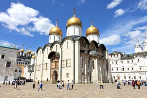 Moscow-Kremlin-Museums/ウスペンスキー大聖堂