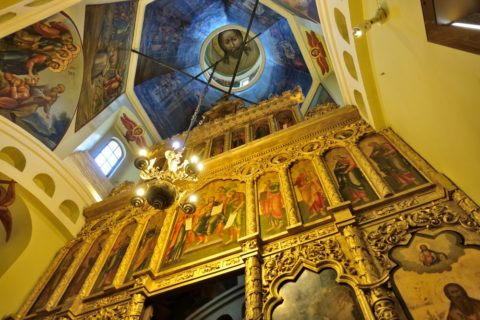 Saint-Basils-Cathedral/黄金のイコノスタシス