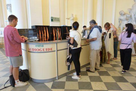 St-Petersburg-Hermitage-museum/オーディオガイド