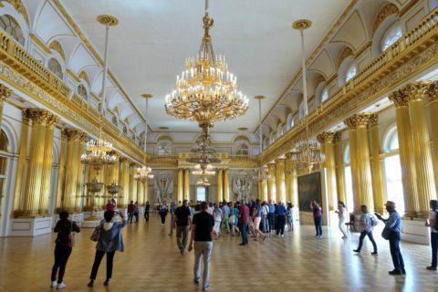 St-Petersburg-Hermitage-museum/内部