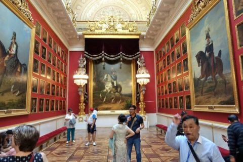 St-Petersburg-Hermitage-museum/絵画