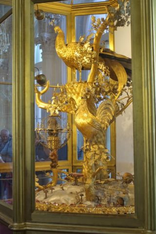 St-Petersburg-Hermitage-museum/孔雀の時計