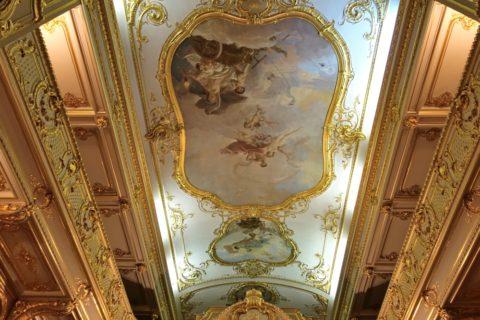 Yusupov-Palace/劇場の天井