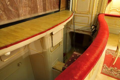 Yusupov-Palace/劇場のオーケストラピット